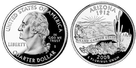 Statehood Quarter - Arizona