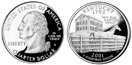 2001 Kentucky State Quarter