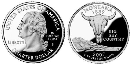 2007 Montana State Quarter