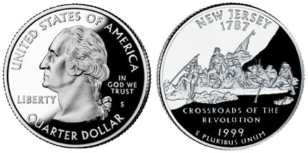 1999 New Jersey State Quarter