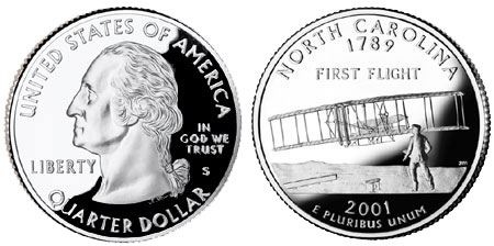 2001 North Carolina State Quarter