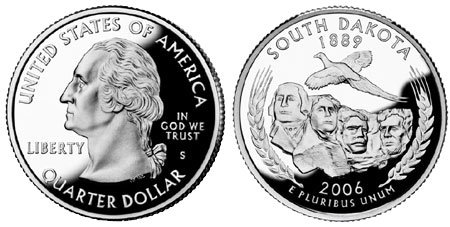 2006 South Dakota State Quarter